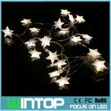 2M/20LEDs Star LED String Light with AA Battery Box Flash/Steady On/Off Christmas Lights for Holiday Wedding Party Decoration(China)