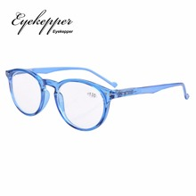 R071 Eyekepper Oval Round Spring Hinges Reading Glasses +0.00---+4.00