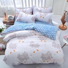 2017 fashion style jungle queen/full/twin size bed linen set bedding set sale bedclothes duvet cover bed sheet pillowcases(China)