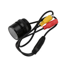 Automobile Universal 28MM Vehicle Mounted Rear View Camera 7 LED Light Waterproof Rear View Camera Parking Assistance(China)