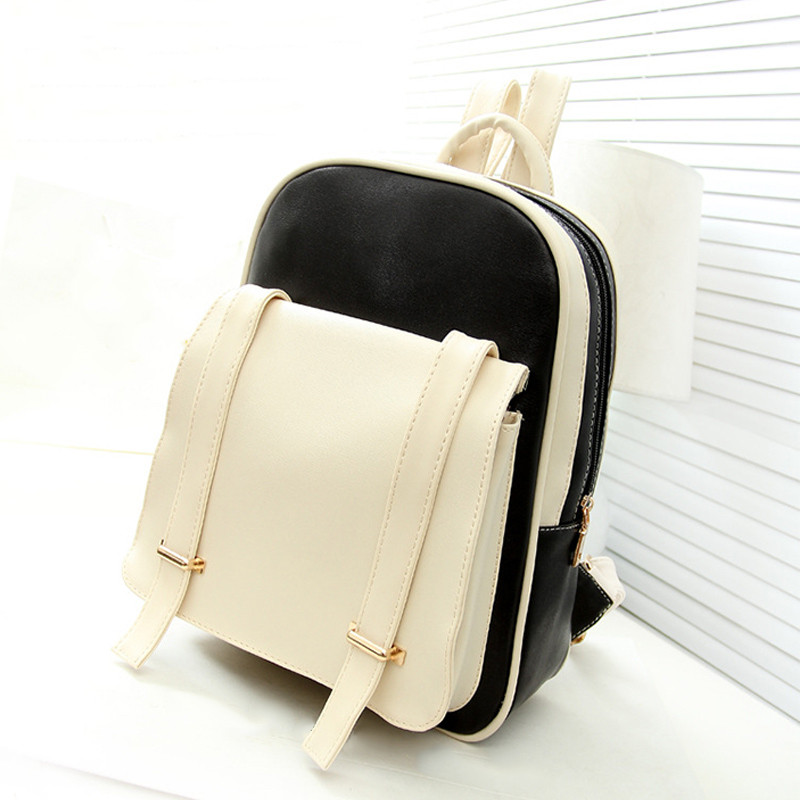 2017 New Fashion PU Leather Backpack School Rucksacks Travel Shoulder Bags Satchel Backpack for Teenager Girls Women mochila<br><br>Aliexpress