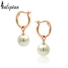 Iutopian Brand Hot Sale Simulated Pearl Earrings Brinco Fashion 13 Colors For Choise Anti-Allergy #RG82561(China)