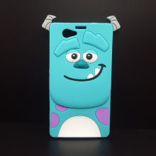 Cute 3D Cartoon Monsters Sulley Soft Silicone Case For Sony xperia z1 compact Z1 mini M51W Silicon Cover shell Cell phone cases