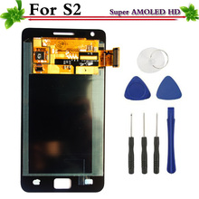 Super AMOLED HD LCD for Samsung Galaxy S2 i9100 LCD Display Touch Screen Digitizer Replacement(China)