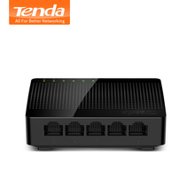 Tenda SG105 Mini 5-Port Desktop Gigabit Switch / Fast Ethernet Network Switch LAN Hub/ Full or Half duplex Exchange(China)