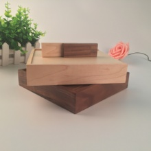 Hot Amazing! Custom Photographie Wooden Photo Box + Wooden OTG Usb 2.0 Memory Flash Stick Pendrive (Over 15 Pcs.free Logo)