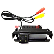600L CCD Car Rear View Reverse Camera for Kia K2 Rio Hatchback Kia Ceed 2013/Hyundai Accent/VERNA Hatchback Parking kit(China)