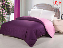 Deep Purple Home Bedroom 1Pcs Cotton Duvet Cover Comforter Cover Twin Full Queen King Bedding 160x210cm 220x240cm Quilt Cover(China)