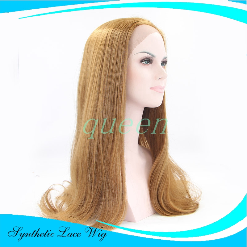 cosplay wig Long Straight  27 Color Synthetic Lace Front Wig Heat Resistant Long Blonde Wig For Fashion Women Cheap Wigs<br><br>Aliexpress