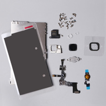 For iphone 5c LCD Digitizer Full Set Small Repair Part Metal Shield Plate Front Camera Ear Speaker Home Button Flex