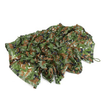 1M*2M Outdoor Woodland Camo Net Camouflage Netting Military Hunting Camping Net Jungle Camouflage Net(China)