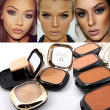 MISS ROSE Base Pressed Powder for Light Dark Skin 8 Colors Oil-control Concealer Face Brightener Matte Contour Powder Makeup(China)