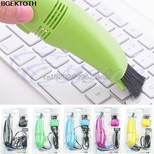 Computer Vacuum Mini USB Keyboard Cleaner PC Laptop Brush Dust Cleaning Kit #H029#