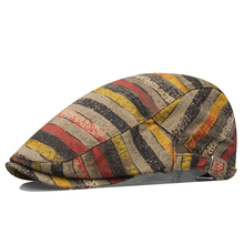 Hat male thin fashion beret check women's personalized fashion cap