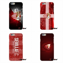 Sevilla football club FC Logo For Samsung Galaxy Note 3 4 5 S4 S5 MINI S6 S7 edge Soft Silicone Cell Phone Case Cover
