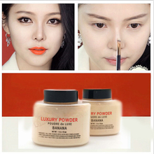 Hot Brand  Banana Powder 42g Bottle Luxury Powder Poudre de Luxe Banana Loose Foundation Beauty Makeup highlighter