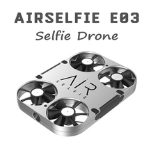 2017 New AirSelfie E03 WiFi FPV 5MP HD Camera Selfie Drone With Power Bank Brushless RC Quadcopter Helicopter Toys VS JJRC H37