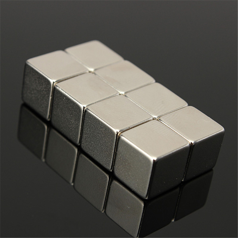 20pcs 10 X 10 x 10mm Square Rare Earth Cube Block N50 Neodymium Super Strong Magnet Can be applied to many Fields DIY(China)