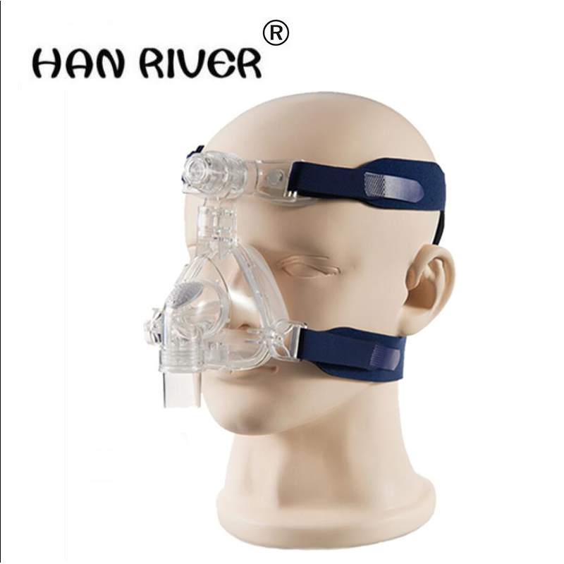 2017 high quality ventilator nose mask for all-purpose sleep apnea with head and home breathing machine accessories<br>