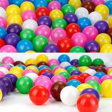 20pcs Kids Colored Plastic Ball Pit Balls Swim Ocean Wave Balls Eco-Friendly Outdoor Funny Kids Toys 5.5cm Pit Balls