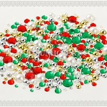 FOR DIY Christmas Bling Bling Phone Decoration Set (About 330pcs In One Set) Beads