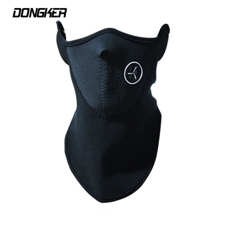 Outdoor Sports Neck Warmers Fleece Balaclavas Skiing Cycling Windproof Protect Half Face Mask Neoprene Hunting Fishing Mask *(China)