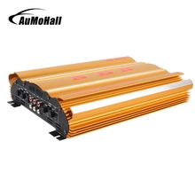 AuMoHall 12V High Power Car Amplifier Professional Multichannel Car Speaker Booster 600W Support Bridge(China)