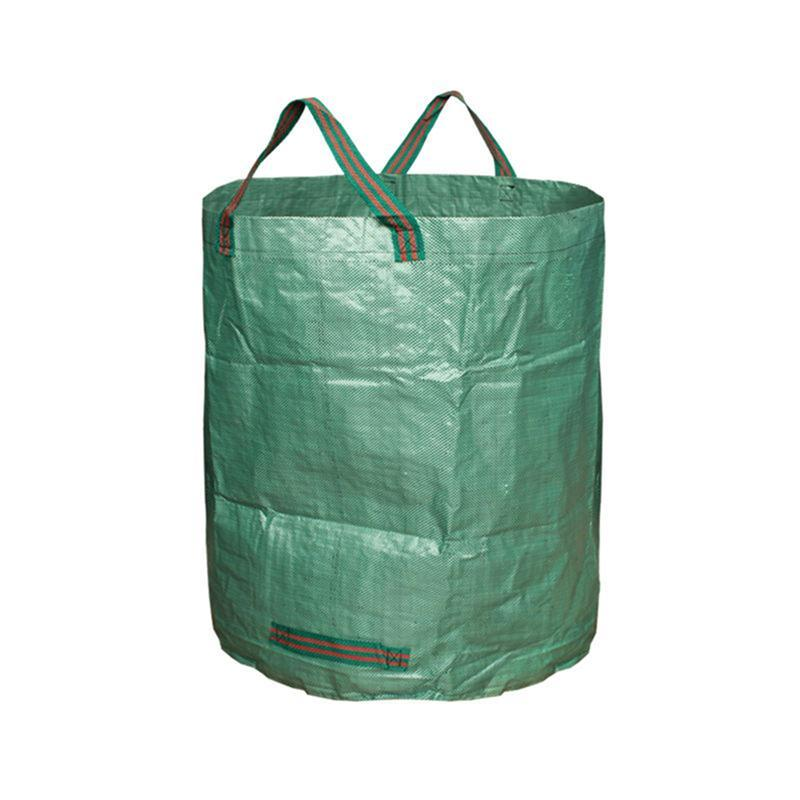 3 X Garden Waste Bags Reuseable Heavy Duty Gardening Lawn Pool Leaf Bag Green
