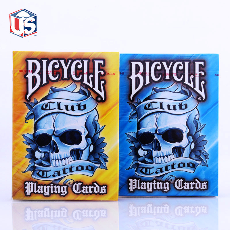 Popular playing card tattoos buy cheap playing card for Bicycle club tattoo deck