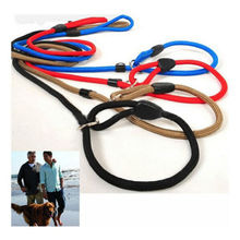 Leash Slip Lead Strap Adjustable Traction Collar Pet Dog Nylon Rope For Training