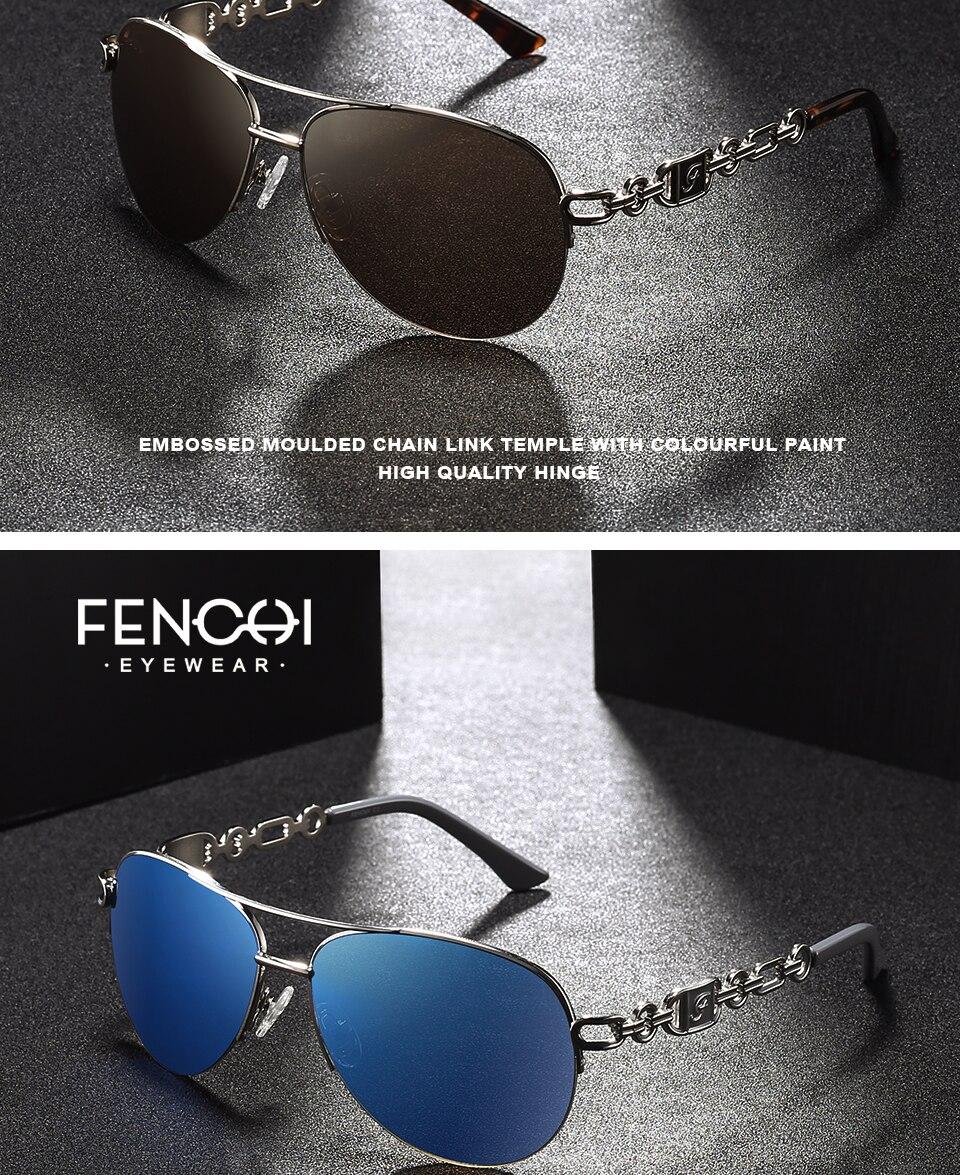 FENCHI Sunglasses Women Classic Vintage Sunglasses UV400 High Quality Brand