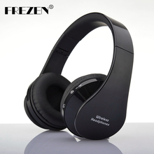 FREZEN NX-8252 Stereo Wireless Bluetooth Headphones V3.0+EDR Sport Headset With Microphone Noise Canceling For Smart Phone Ipad(China)