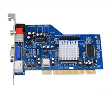 Dragon New II Sigma Designs EM8470 decompression card vod video card , dvd / ktv card hardware decoder card(China)