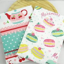 High-quality Cherry Macaron Printed Cotton Table Napkins Tea Towels Kitchen Restaurant Mats 38*58cm