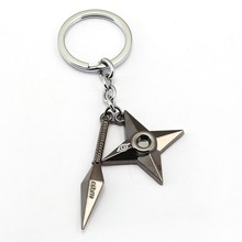9 style NARUTO Keychain Anime Key Chain Akatsuki hat Key Ring Holder scrolls Pendant Chaveiro Jewelry Souvenir