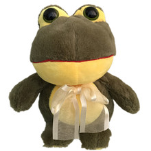 The Frog Prince Cute Frog Plush Toy Children Lovers Birthday Christmas Present  Animal Doll 22cm