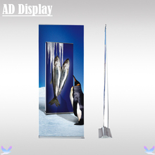 80*200cm 4PCS Trade Show Flat Wide Base Aluminum Roll Up Banner Stand,Premium Exhibition Advertising Signage Display Equipment(China)