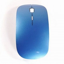 New 2.4G RF DPI Optical Light wireless USB Mouse Blue/White