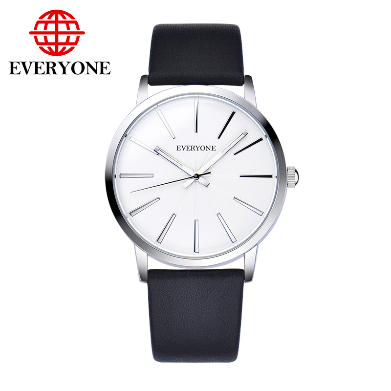 New Brand Men Women Lovers Watches Leather Band Casual Dress Watch Couples Quartz-watch<br>