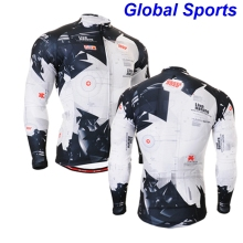 2017 autumn winter cycling jackets men professional team racing cycle coat clothes wear hot selling