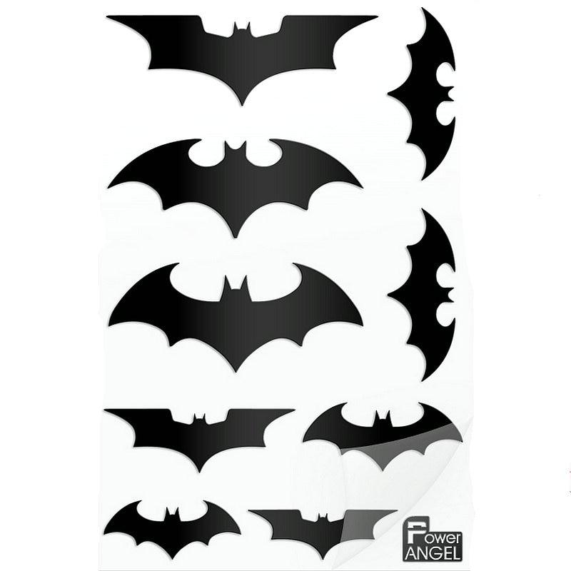 Aolly Car The Batman VS Superman Emblem Badge Metal Stickers Decals Silver Black
