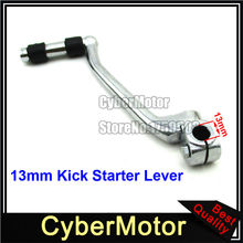 Steel 13mm Kick Starter Lever For Chinese Horizontal Engine 50cc 70cc 90cc 110cc 125cc Dirt Pit Motor Bike Motorcycle Lifan(China)