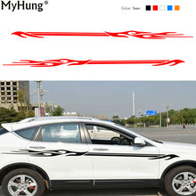 2pcs Car Body Sticker Cars Vinyl Decal General Car Waterproof Car Styling Accessories Stickers Auto Decals