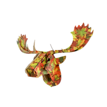 MOYLOR DIY 3D Elk Wall Decor Wooden Creative Festival Party Decors Bar Coffee Room Christmas Easter Furnish Home Decoration Q $(China)