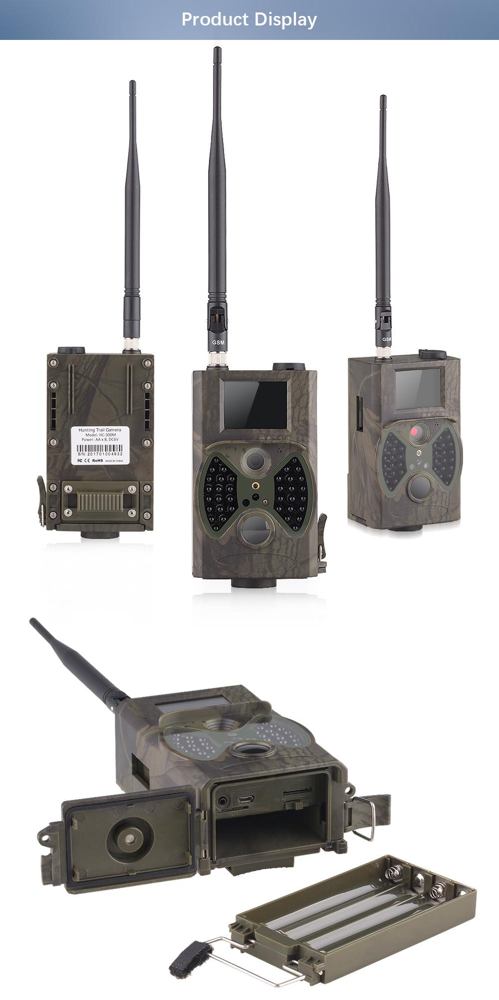 Wildlife Hunting trail camera HC 300M 2 TFT IR Hunting Camera LCD Screen wildlife detector Night vision wild camera (9)