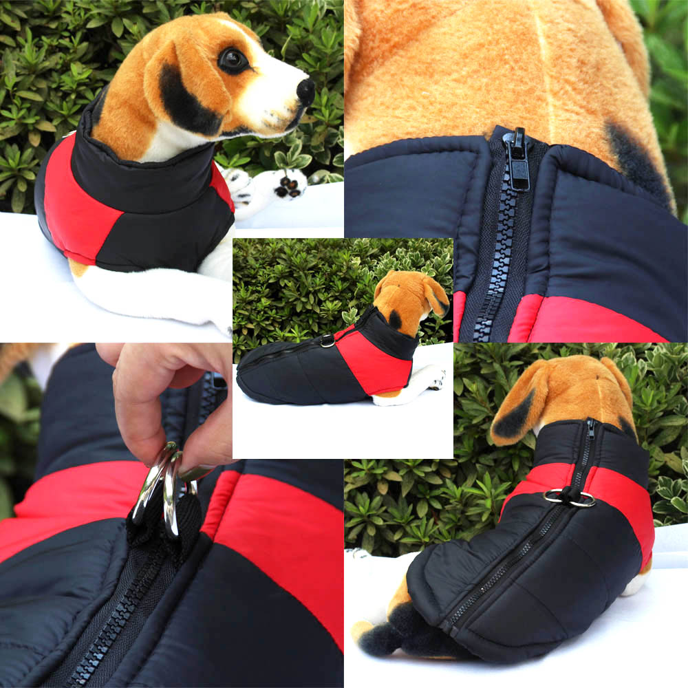 Dog Clothes For Small Medium Large Dogs Pug French Bulldog Winter Warn Pet Puppy Chihuahua Coat Jacket Waterproof Costume Uk Crate