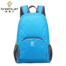 Waterproof backpack beach ultra-light backpack backpack folding backpack male women's bag Storage bag travel bag