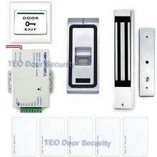 Free DHL Shipping RFID controller Finger Print admission Control IP68 outdoor 600lbs LED Electromagnetic Lock with Relay Output(China)