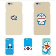 For Apple iPhone 4 4S 5 5C SE 6 6S 7 7S Plus 4.7 5.5 Soft TPU Silicon Case Mobile Japanese Lovely Doraemon