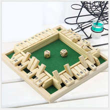 Game-Set Board-Game Number Digital Shut 4-Players Friends/family for Puzzle The-Box